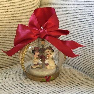 Mickey and Minnie Christmas Ornament